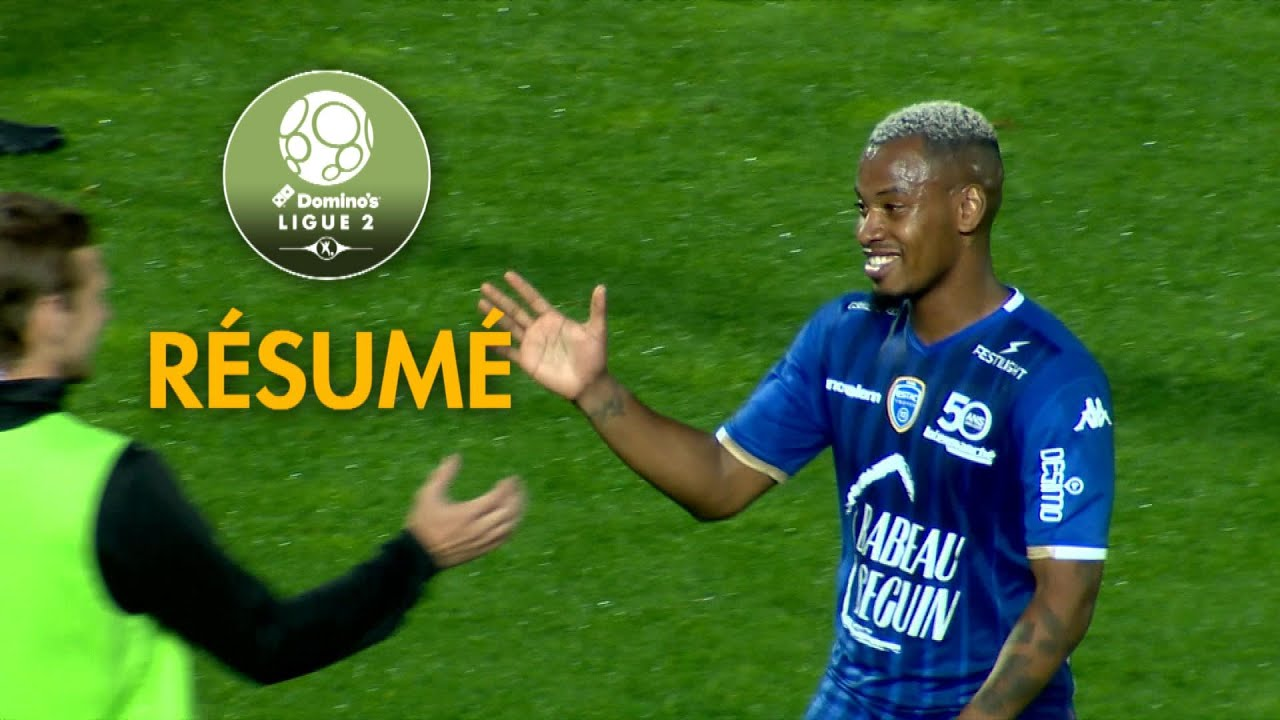estac troyes - red star fc   2-0   - r u00e9sum u00e9 -  estac