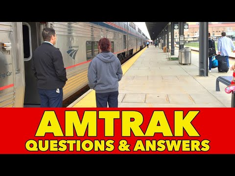 Amtrak questions and answers – 27 facts about Amtrak trains