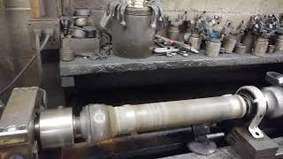 Video At work. What a balanced driveshaft should look like download MP3, 3GP, MP4, WEBM, AVI, FLV Juli 2018