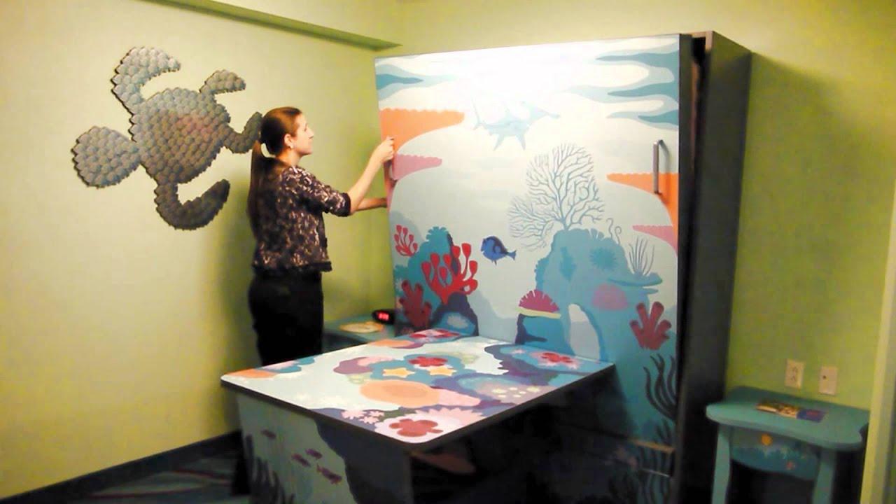 Disney Art of Animation Nemo Suite Murphy Bed  YouTube