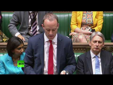 LIVE: New Brexit minister Dominic Raab releases White Paper in Commons