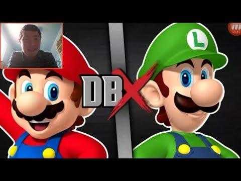 Epic Reaction To DBX - Mario VS Luigi