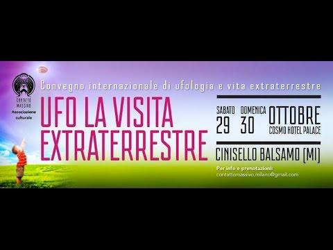 30.10.2016 Convegno Ufo La Visita Extraterrestre 1° Parte