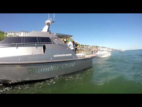 Chasing Thunder Child 50+ knots Cork Harbour June 17