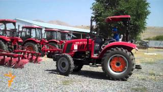 China Give Tractors to Afghanistan