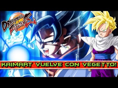 KAIMART ALCANZA EL ULTRA INSTINCT y VUELVE CON VEGETTO!! DRAGON BALL FIGHTERZ
