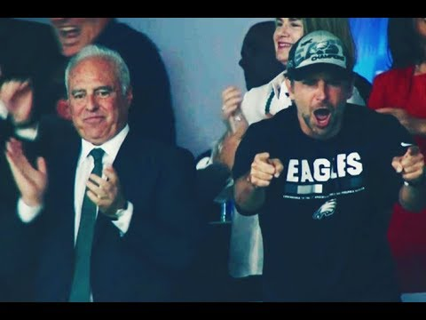 Full video of Bradley Cooper going BALLISTIC at Eagles Super Bowl LII win!