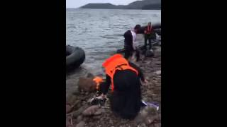 TIME.com Periscope |  Witness Refugees Landing On The Coast Of Greece.