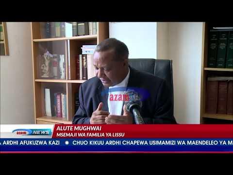 Azam TV - Familia ya Tundu Lissu yalamikia ukimya wa Bunge.
