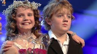 Amira Willighagen - Brother Fincent bringing Roses - Semi-Finals Holland's Got Talent - 21/12/2013