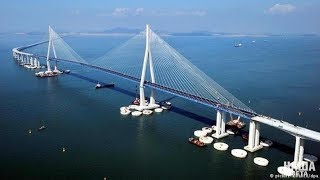 Russian Engineering Masterpiece: Kerch Strait Bridge is Putin