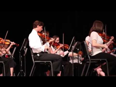 Glboro High School Orchestra Perming Led Zeppelin Medley