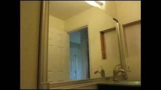 Bath Renovation:  Vanity Mirror Framing