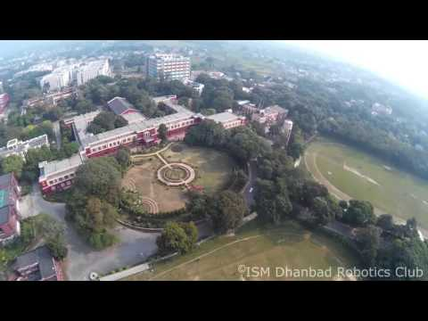 Aerial view of ISM Dhanbad.
