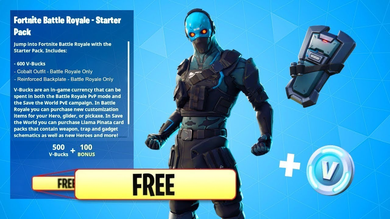 *GLITCH* How To Get Cobalt Pack For FREE In Fortnite ...