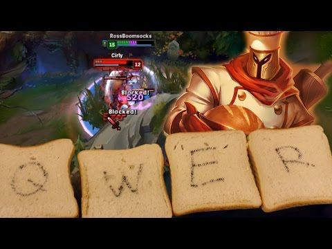 PLAYING BAKER PANTHEON WITH BREAD - Weird League of Legends