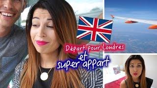 Vlog in London #1: Arrivée et Super Appartement !