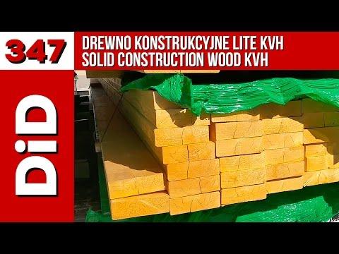 347. Drewno konstrukcyjne lite KVH / Solid construction wood KVH