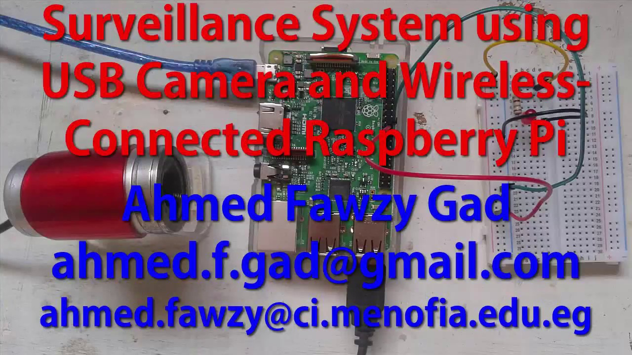 Building Surveillance System using USB Camera and Wireless-Connected