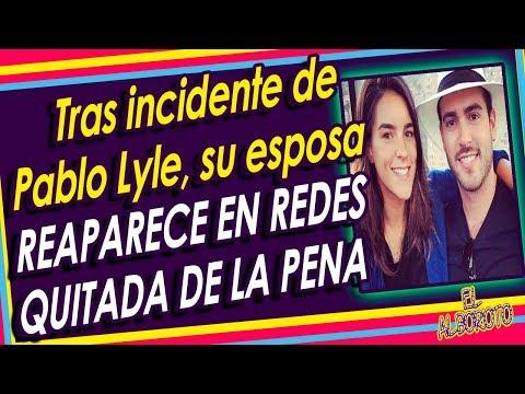 Esposa de Pablo Lyle retoma sus redes sociales y sube video