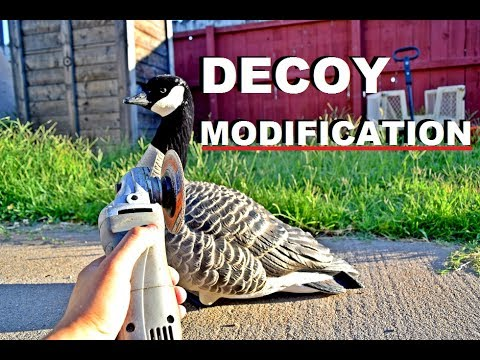 Duck and Goose Decoy Modification you have likely never done!
