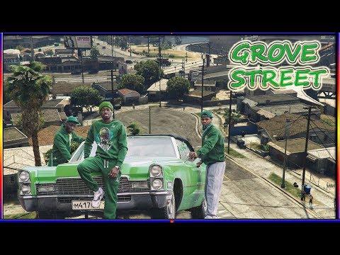 CJ TAKES BACK GROVE STREET - (FULL MOVIE)