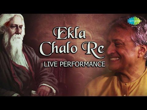 Ekla Chalo Re on Sarod   Ustad Amjad Ali Khan   Ayaan Ali Khan   Amaan Ali Khan   Live Performance