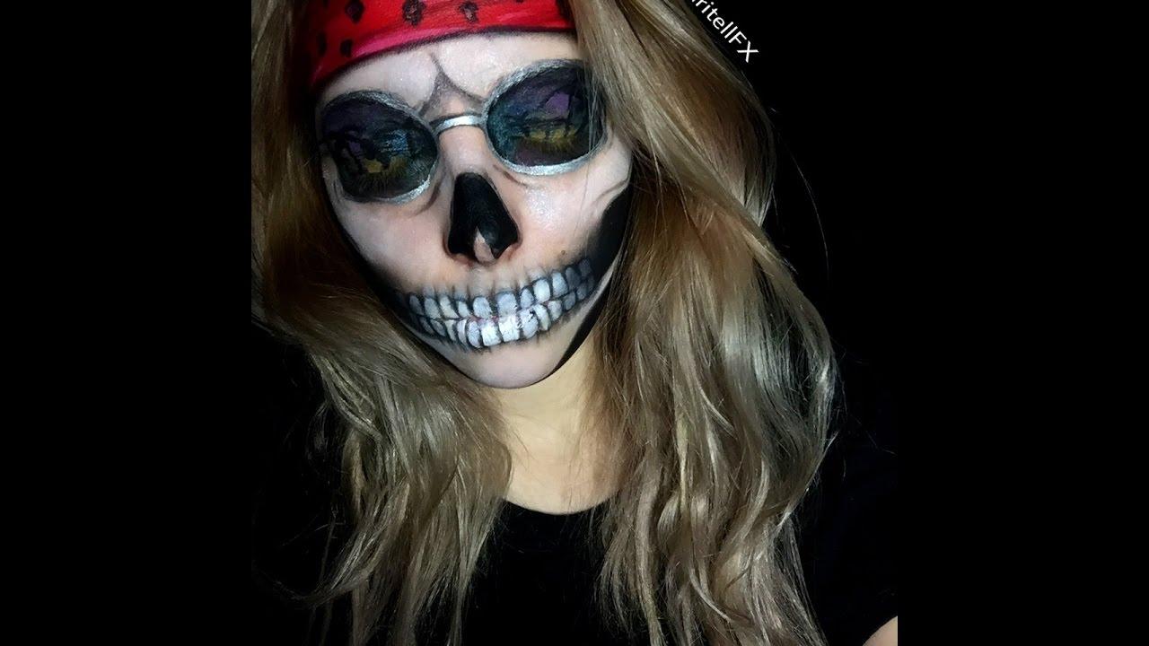 Guns N Roses | Paradise City Skull Facepaint & Guns N Roses | Paradise City Skull Facepaint - YouTube