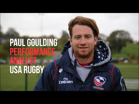 Dream Careers - USA Rugby Analyst Paul Goulding
