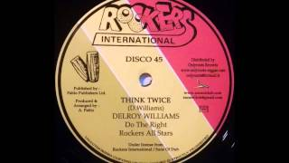 DELROY WILLIAMS - Think Twice [1979]