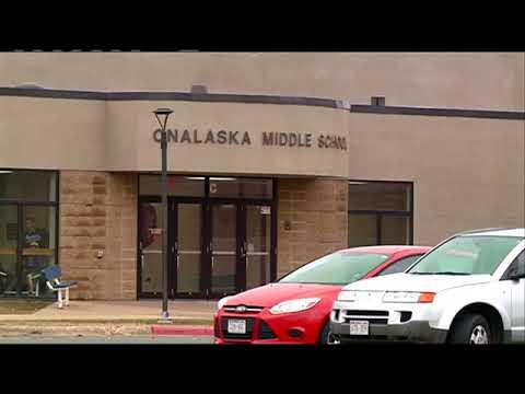 Weapon found in locker at Onalaska Middle School