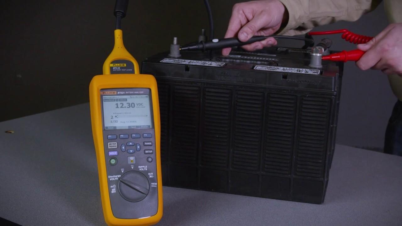 the fluke 500 series battery analyzer other modes including ripple rh youtube com Fluke Bait Fluke Worm