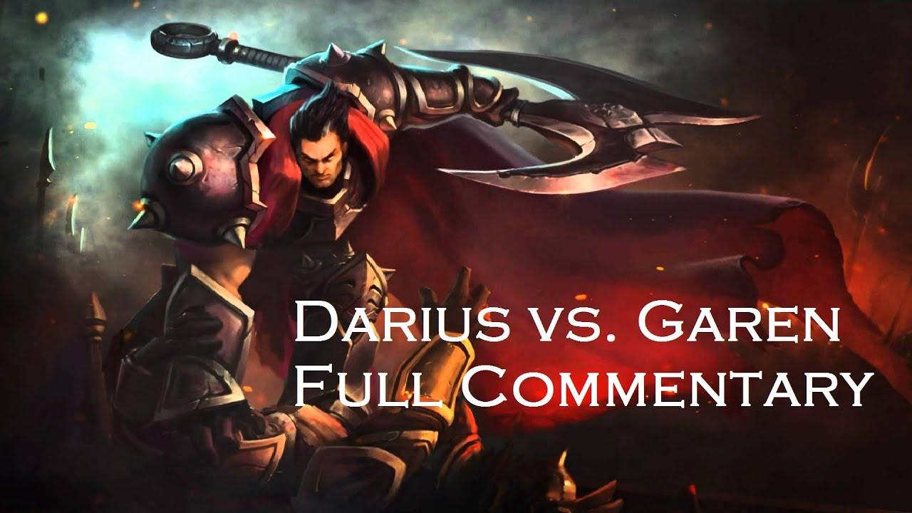 Patch 517 Darius Vs Garen