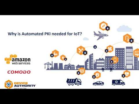 Why is Automated PKI needed for IoT?