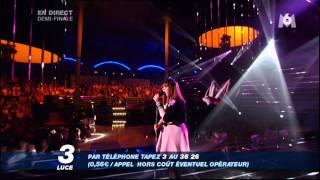 """Luce à Nouvelle Star - """"La vie en rose"""" d"""
