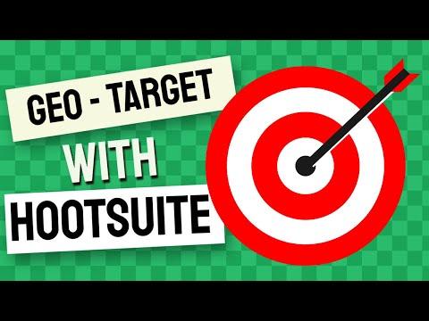 Geo Target Tweets Using Hootsuite