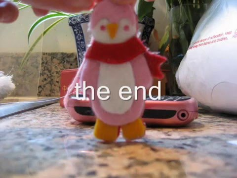 How To Make A Cute Coach Inspired Penguin Keychain