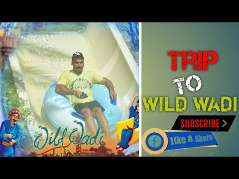 Trip to WILD WADI Water park I Dubai | Water slides