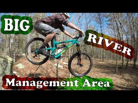 Mountain Biking Big River Management Area | West Greenwich, Rhode Island