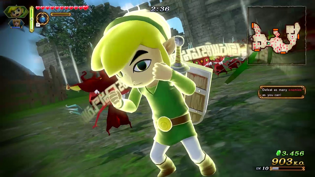 Hyrule Warriors Definitive Edition Gameplay Nintendo Switch Youtube