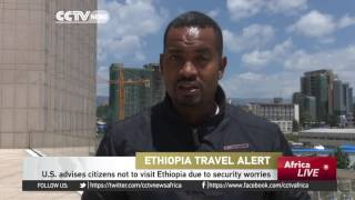 CCTV : Ethiopia Unhappy With US Travel Ban