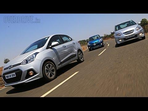 Hyundai Xcent Vs Honda Amaze Vs Maruti Suzuki Dzire In