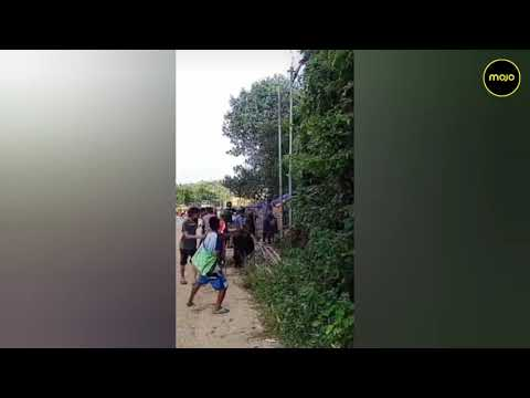 Mizoram Residents Share Unprecedented Images Of Border Clashes With Assam