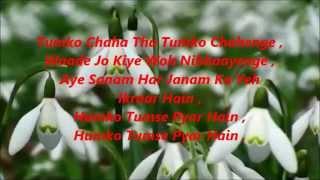 Humko Tumse Pyaar Hai Karaoke Kumar Sanu Alka