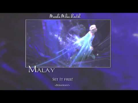 Frozen - Let it Go 'That perfect girl is gone'  One-Line Multilanguage *w/S&T