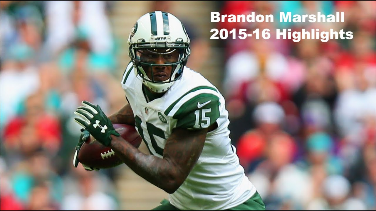 9db166baa75 2016 Pro Bowl WR  Brandon Marshall Highlights - NFL 2015-16 HD - YouTube