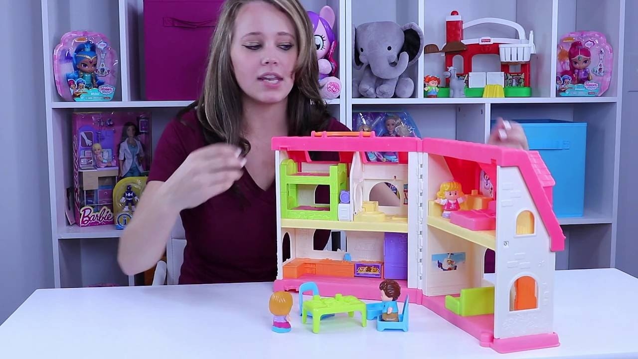 Fisher Price Little People Surprise And Sounds Home Youtube
