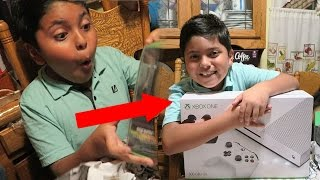 Surprising My Little Brother With Xbox One S!