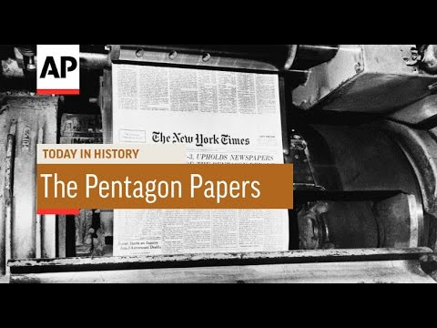 New York Times Publishes Pentagon Papers - 1971  | Today In History | 13 June 16