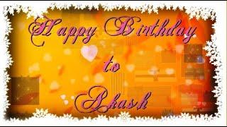 Happy birthday to Akash | Happy Birthday to You